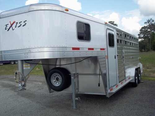 2014 Exiss Trailers 20 ft Stock / Stock Combo Trailer