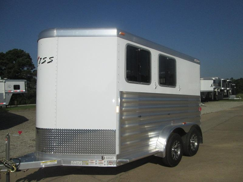 2017 Exiss EXPRESS 2H BP - CXF EDITION Horse Trailer