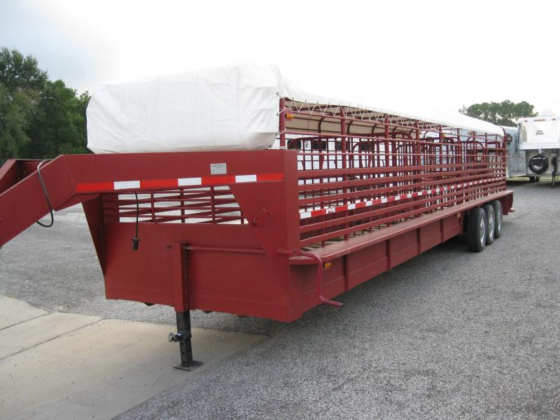 GOOD BUY - 36ft Fair West Stock Trailer