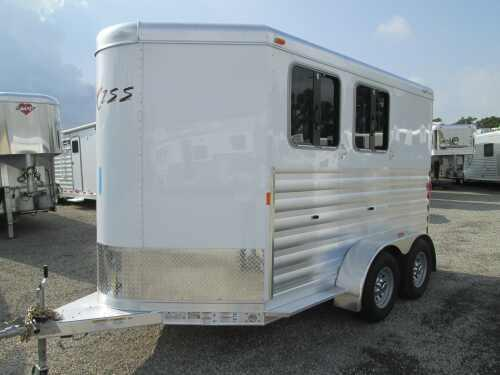 2015 Exiss 2 HORSE SLANT LOAD BP Horse Trailer