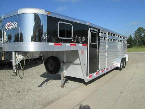 2013 Exiss 24 Stock/Combo Horse Trailer