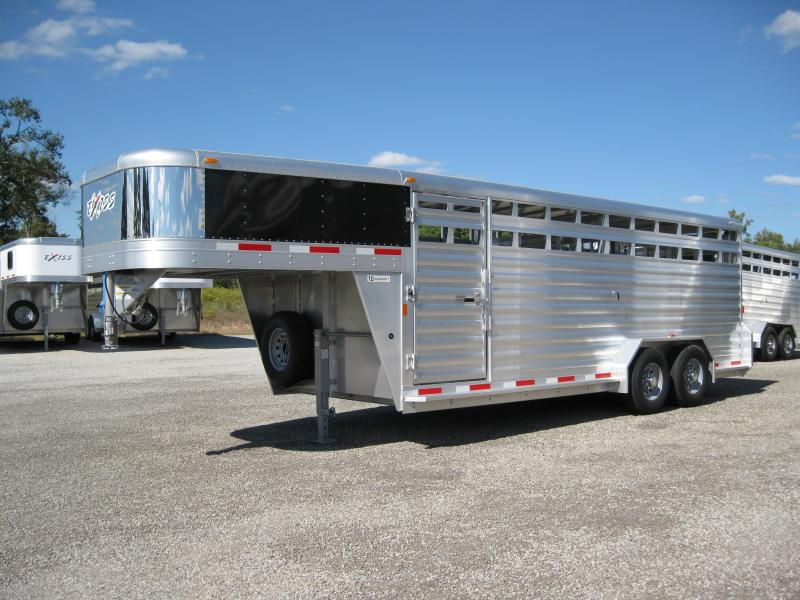 2014 Exiss STK 620 Livestock Trailer