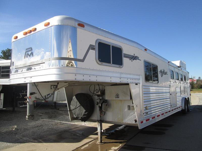 2005 Platinum Coach 4H LQ - GENERATOR - Horse Trailer