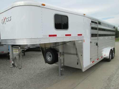 2015 Exiss 7400 CX 4 HORSE W/DIVIDERS Horse Trailer