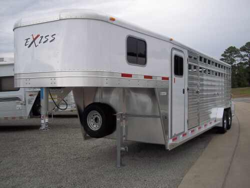 2014 Exiss 24 ft Stock Combo Trailer
