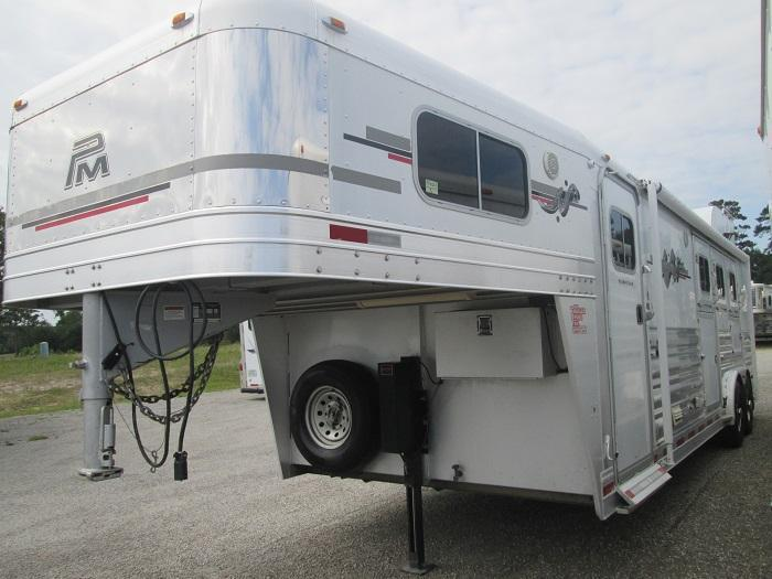 2007 Platinum Coach 3H LQ REALLY NICE Horse Trailer