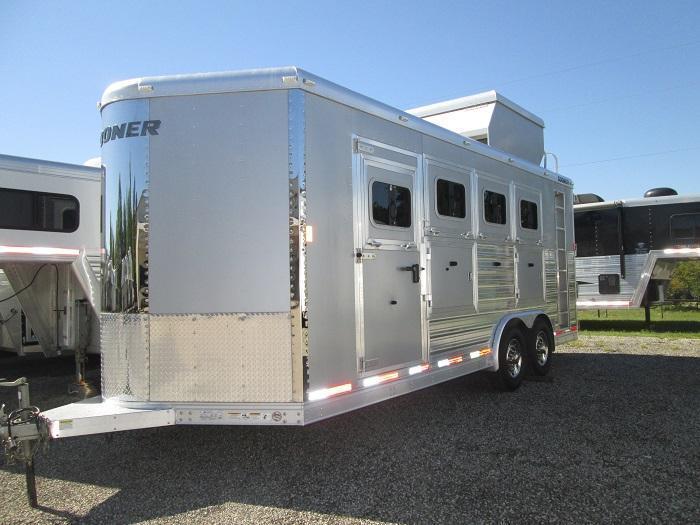 2013 Sooner 4H BP Horse Trailer