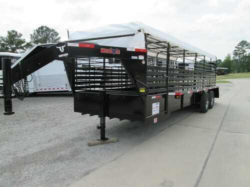 2014 Neckover 24 ft Stock Trailer