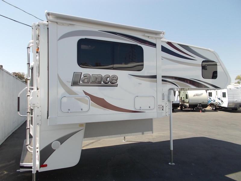 2017 Lance 855s Shortbed Truck Camper