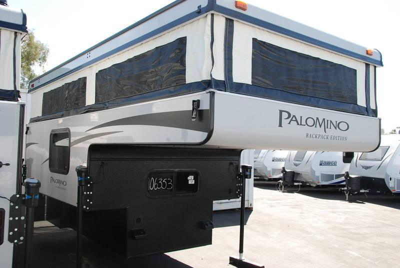 2016 Palomino Backpack 1251 Truck Camper