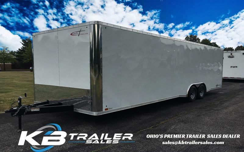 2016 Cross Trailer 24' Enclosed Car Hauler Race Trailer
