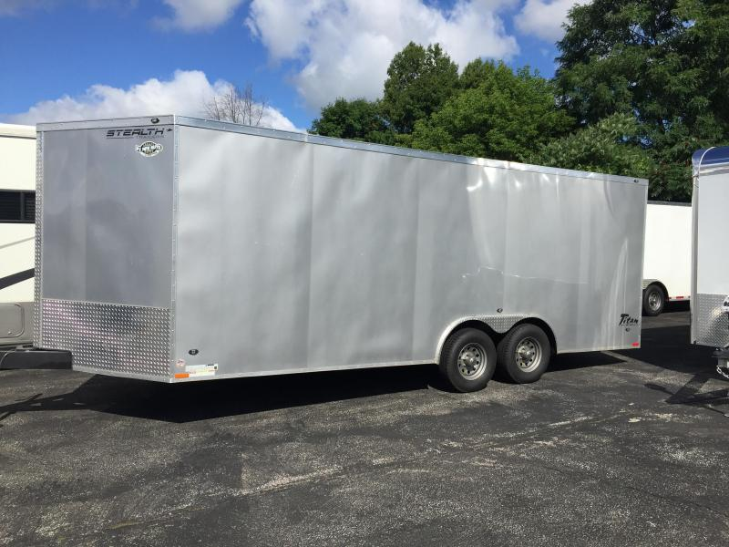 2016 Stealth Trailers Titan Enclosed Cargo Trailer 8.5 x 20 Plus V Nose
