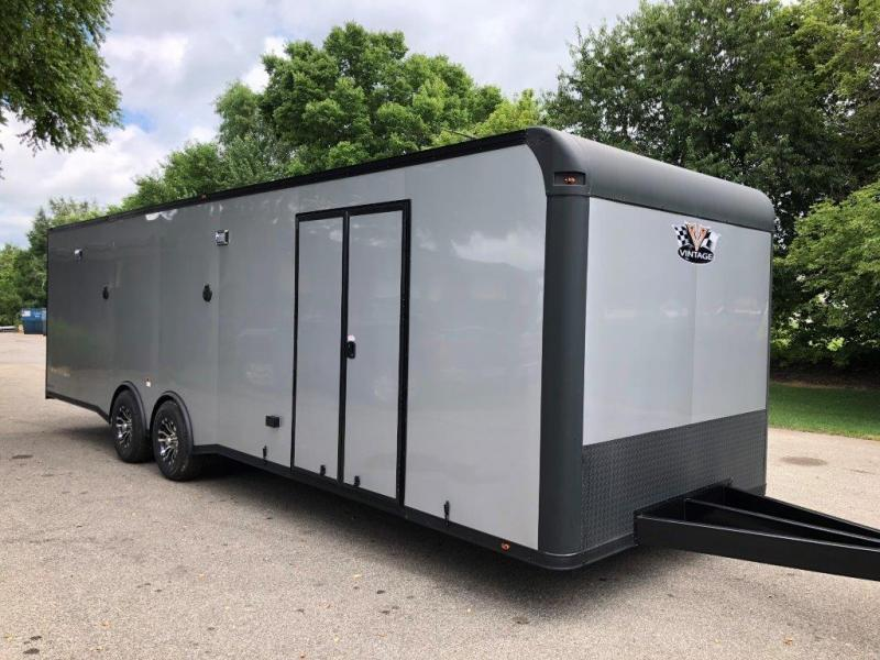 2019 28' Vintage  Blackhawk/ Prostock Custom Race Trailer