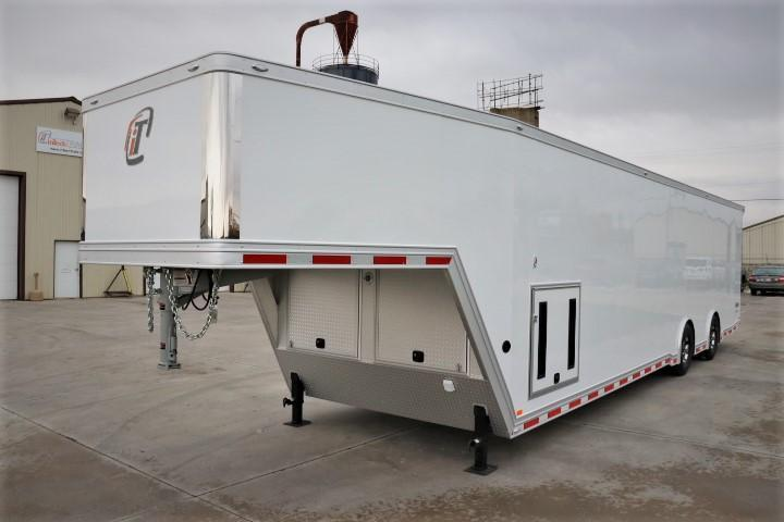 2019 inTech Trailers 40 Goosneck Icon PKG Car / Racing Trailer