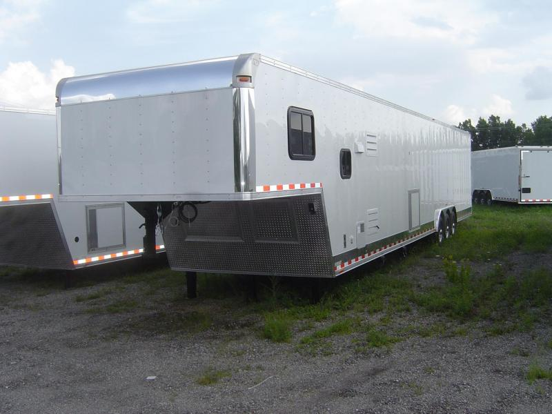 2017 48' Vintage Outlaw Trailer with 12' LQ in stock