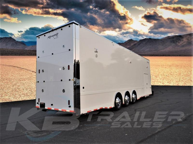2018 Renegade 38 Liftgate Stacker Custom Car / Racing Trailer