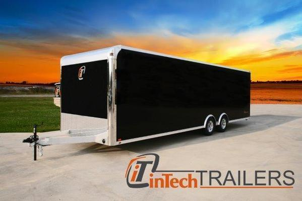 2018 inTech Trailers Aluminum Trailer 20 / 24 / 28 Enclosed Trailer