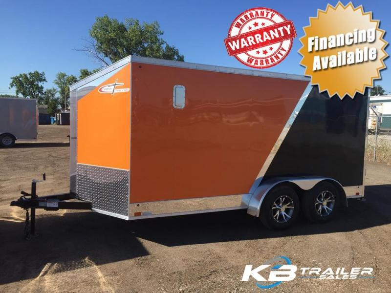 2016 7' x 16' Cross Trailers  Motorcycle Trailer