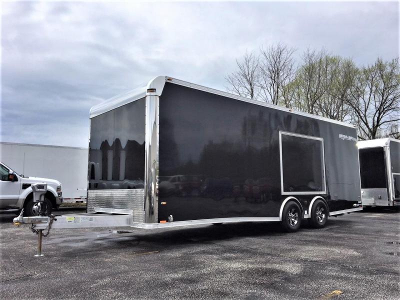 2017 Rance Aluminum Trailers 2017 Rance Renegade Aluminum enclosed trailer Car / Racing Trailer