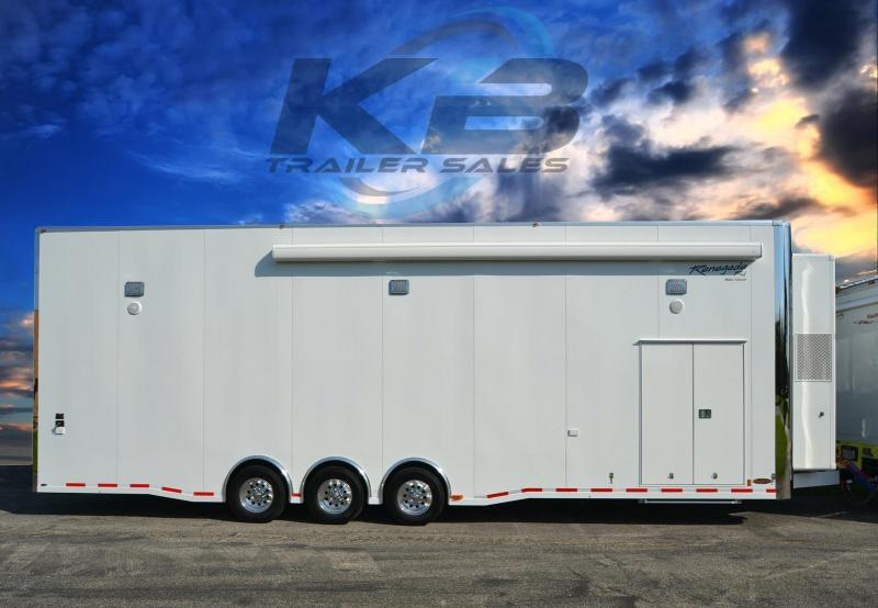 2018 Renegade 34 Aluminum Stacker Custom Car / Racing Trailer