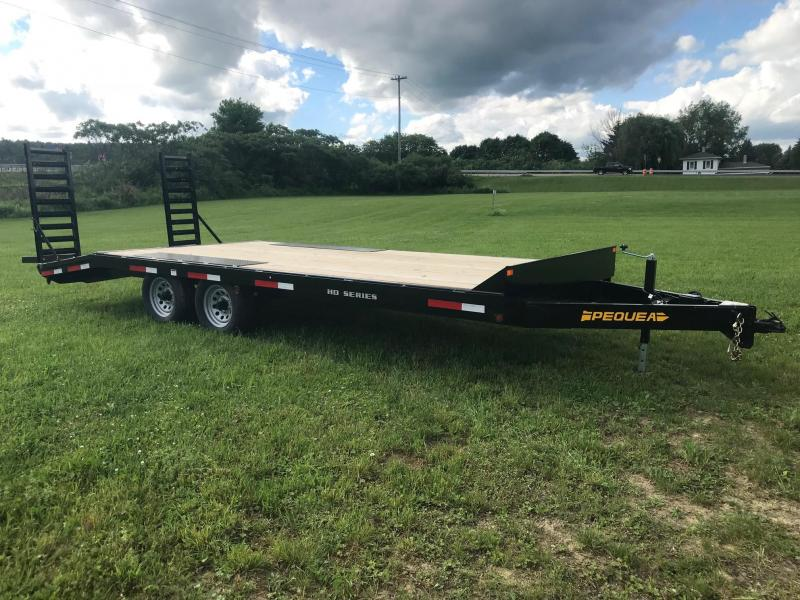 2018 Pequea THRD16 Equipment Trailer