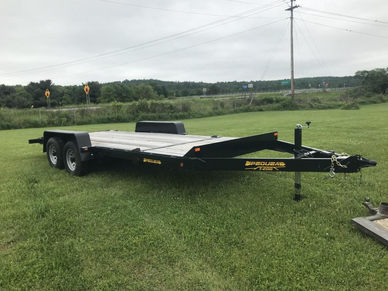 2016 Pequea T-200 Tilt Equipment Trailer