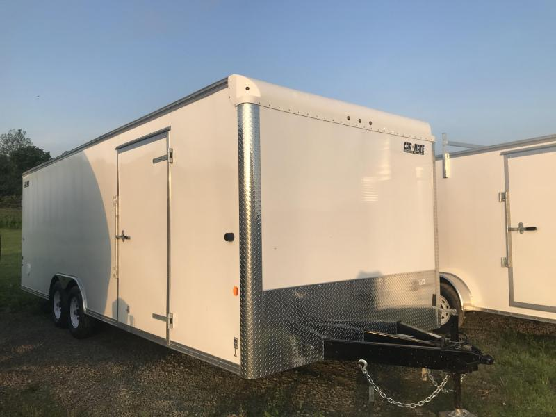 2018 Car Mate CM824C-CT Custom Car Hauler Car / Racing Trailer