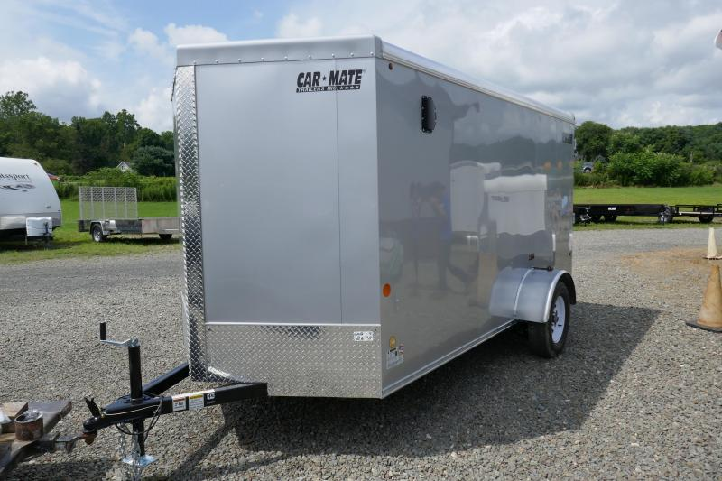 2019 Car Mate Trailers CM612LS Single Axle Enclosed Cargo Trailer
