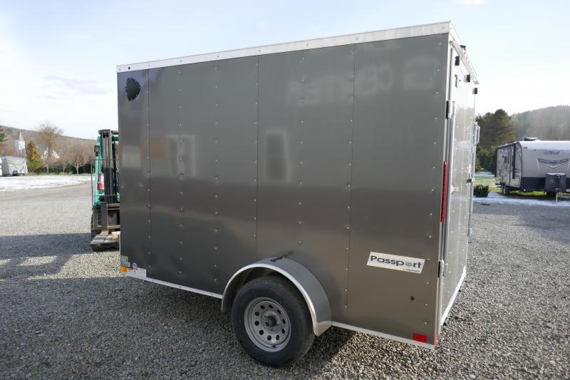 2020 Haulmark PP610S2-D Ramp Rear Door Enclosed Cargo Trailer