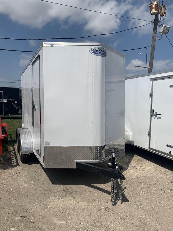 2020 Continental Cargo TXLVVH612TA2 Utility Trailer