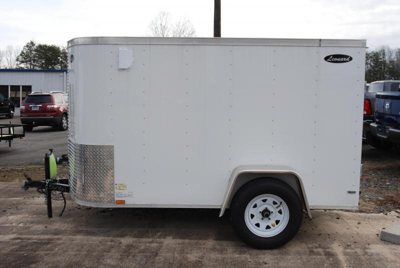 5 x 8 SIngle-Axle Cargo Trailer. Aluminum body with V-Nose. Built to last!