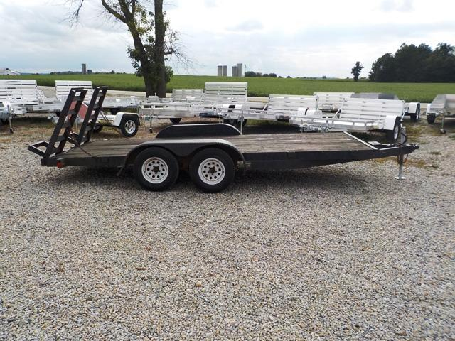 1995 Cox 7616 Utility Trailer - USED