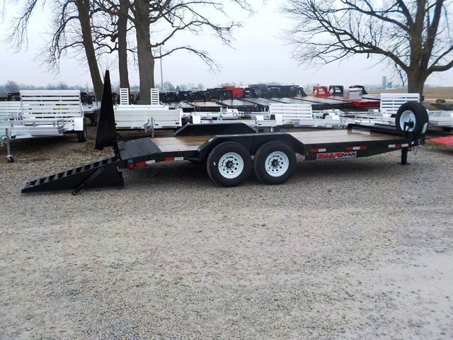2018 Trailerman Trailers Inc. CST7162S14 Equipment Trailer