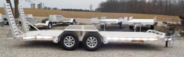 2017 Aluma TR 8220 14K Equipment Trailer