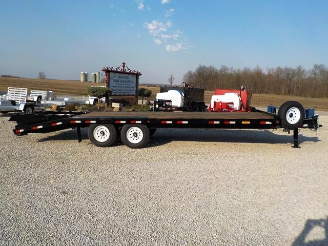 2018 Trailerman Trailers Inc. CDT8185 F14 Deckover Equipment Trailer
