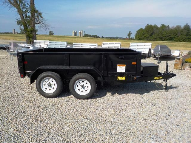 2017 Big Tex Trailers 70SR-10X6 BK Dump Trailer