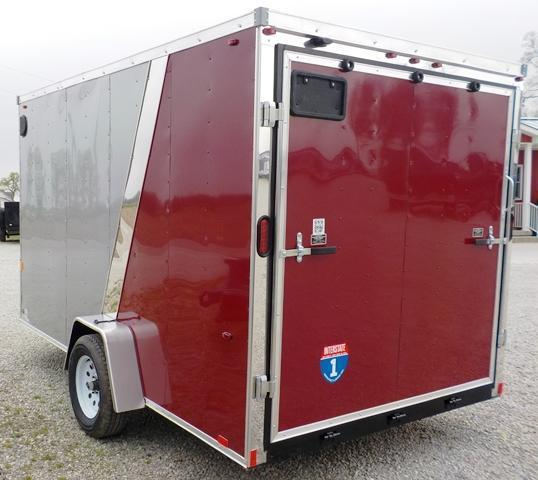 2016 Interstate IFC 712 SAFS Enclosed Cargo Trailer