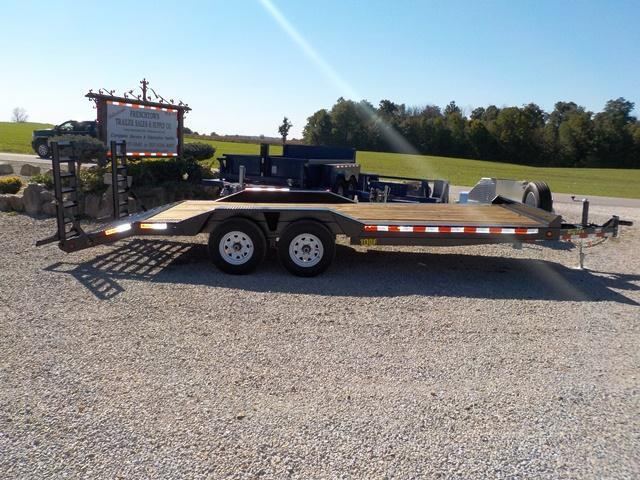 2017 Big Tex Trailers 10DF - 20 BK EXTRA WIDE Equipment Trailer