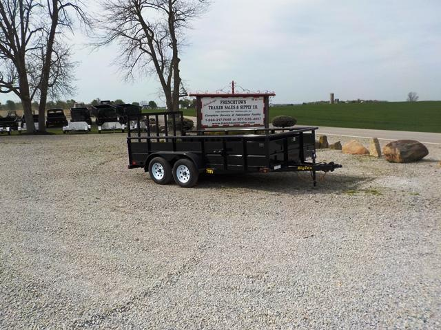 2017 Big Tex Trailers 70 TV 14BK 4RG Utility Trailer