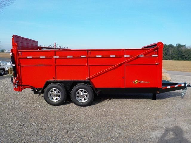 2017 B-Wise DU 16-15 ULTIMATE Dump Trailer