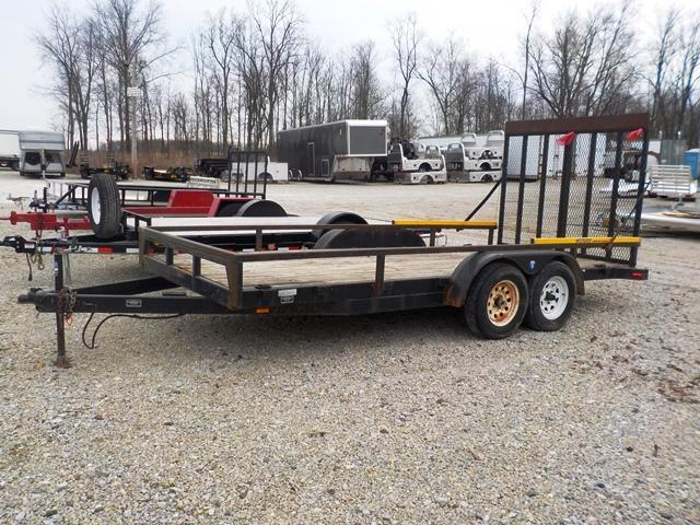 2005 Interstate IFB 716 TA2 Utility Trailer - USED