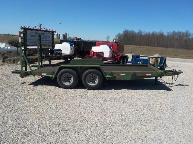 2005 Kaufman Trailers 7816 Equipment Trailer