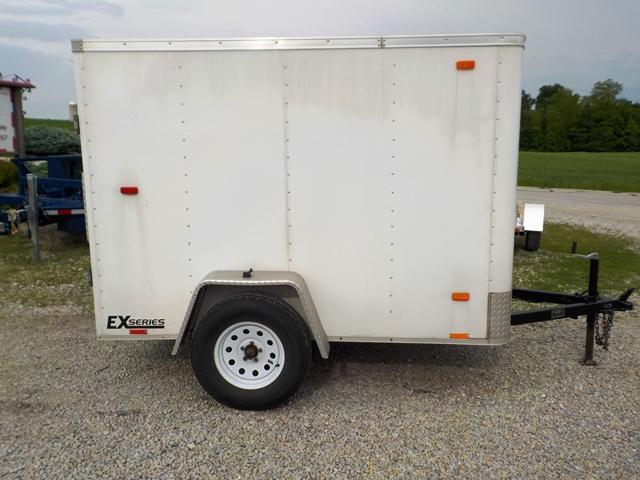 2016 Cargo Express EX 5X8 S12 Enclosed Cargo Trailer