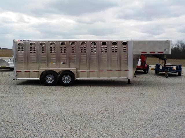 2018 Wilson Trailer Company PSGN - 5720 RANCH HAND Livestock Trailer
