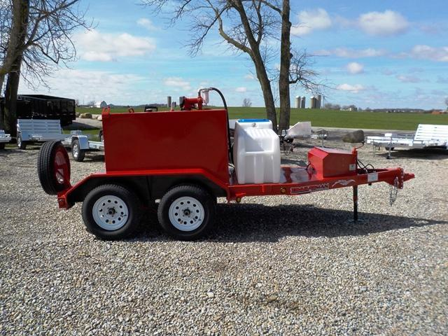 2017 Trailerman Trailers Inc. TTT5008N07 Fuel Tank Trailer