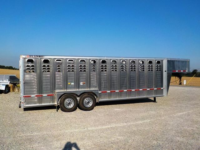 2018 Wilson Trailer Company PSGN - 5724 RANCH HAND Livestock Trailer