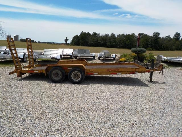 2005 Superline BW4T182HD Equipment Trailer - USED