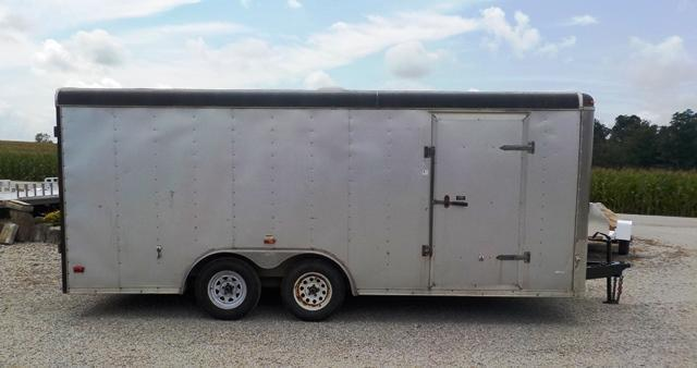 2006 MTI Trailers MTT 8518 TA2 Enclosed Cargo Trailer