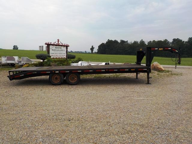 2009 Belmont GN12LD Equipment Trailer - USED