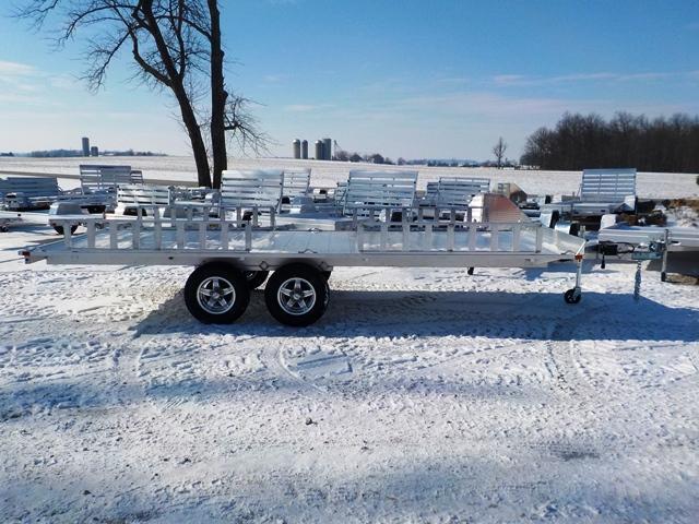 2018 Aluma A8818 ATV Trailer